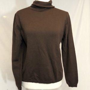 Pendleton wool sweater medium brown